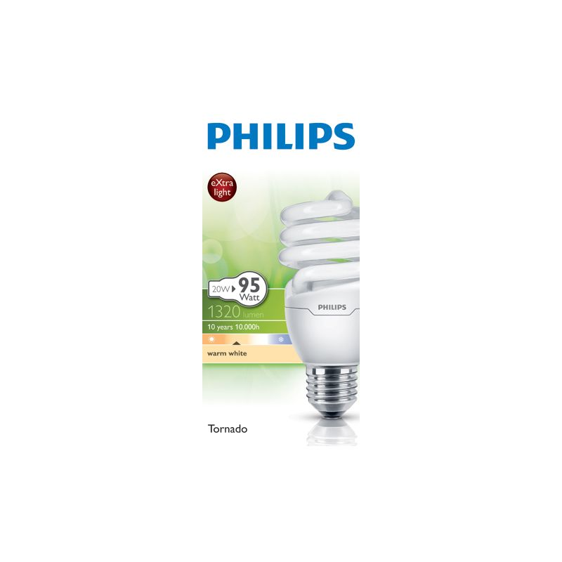 Philips Energy Saver Cfl Spiral Bc 11w Bulb