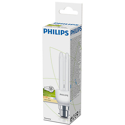 Image for Philips Energy Saver (CFL) Stick BC 11W Bulb from StoreName
