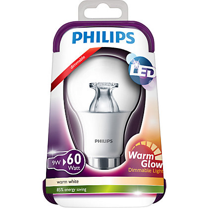 Image for Philips LED Dimmable Classic BC 10W Bulb from StoreName