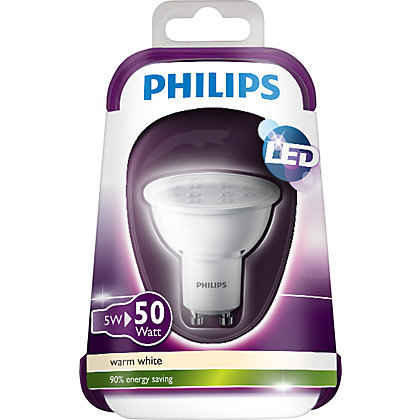 Image for Philips LED GU10 5W Bulb from StoreName
