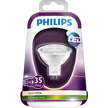 Image for Philips LED MR16 4W Bulb from StoreName