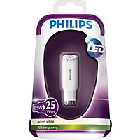 philips led g9 2w light bulb