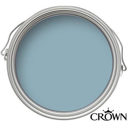 Image for Crown Period Collection Tempest Blue - Flat Matt Emulsion Paint - 40ml from StoreName