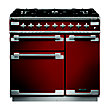 Rangemaster 108420 Elise 90 Dual Fuel - Cherry Red