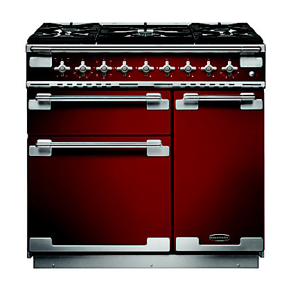 Image for Rangemaster 108420 Elise 90cm Dual Fuel - Cherry Red from StoreName