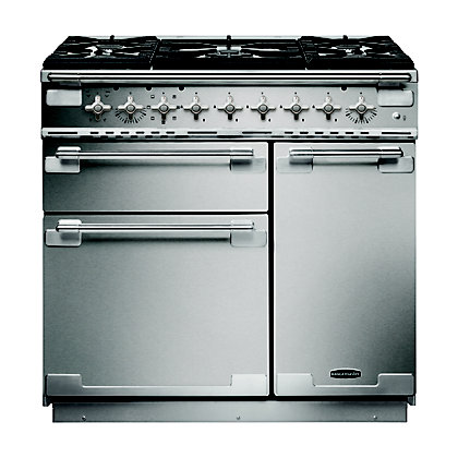 Image for Rangemaster108400 Elise 90cm Dual Fuel Range Cooker - Stainless Steel from StoreName