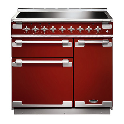 Image for Rangemaster 107880 Elise Range Cooker - 90cm - Cherry Red from StoreName