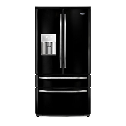 Image for Rangemaster 10815 DXD15 Fridge Freezer - Black from StoreName