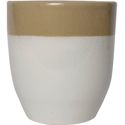 Image for Two Tone Natural Pot - 15cm from StoreName