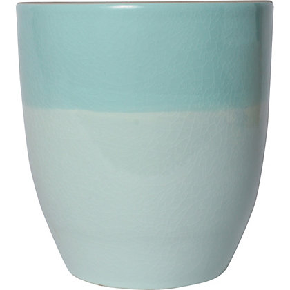 Image for Two Tone Duck Egg Pot - 15cm from StoreName