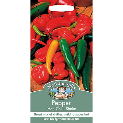 Image for Hot Pepper Chilli Shake (Capsicum Annuus) Seeds from StoreName