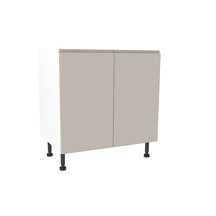 Image for Simply Hygena Kensal Cashmere High Line Base Unit - 800mm from StoreName