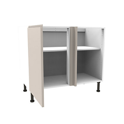 Image for Simply Hygena Kensal - Cashmere - 1000mm High Line Corner Base Unit from StoreName