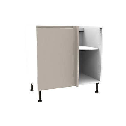 Image for Simply Hygena Kensal Cashmere High Line Corner Base Unit - 800mm from StoreName