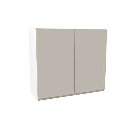 Image for Simply Hygena Kensal - Cashmere - 800mm Wall Cabinet from StoreName