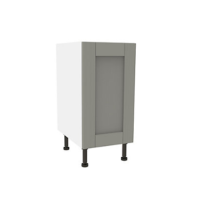 Image for Simply Hygena Southfield - Grey - 400mm High Line Base Unit from StoreName
