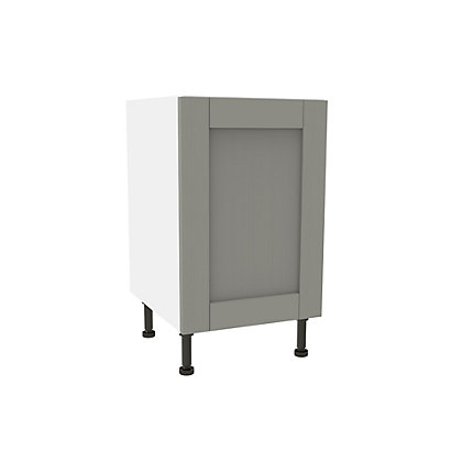 Image for Simply Hygena Southfield Grey High Line Base Unit - 500mm from StoreName