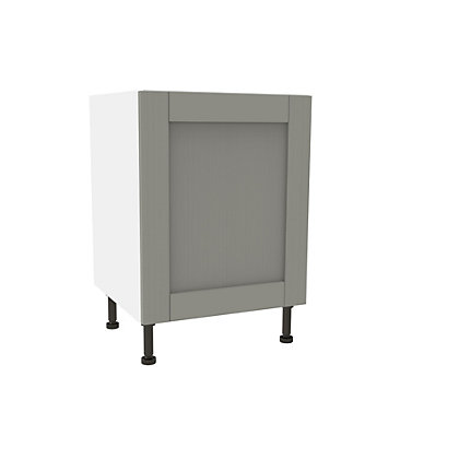 Image for Simply Hygena Southfield - Grey - 600mm High Line Base Unit from StoreName