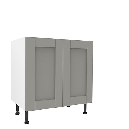 Image for Simply Hygena Southfield Grey High Line Base Unit - 800mm from StoreName