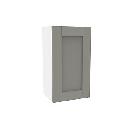 Image for Simply Hygena Southfield Grey Wall Cabinet - 400mm from StoreName