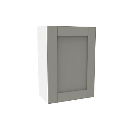 Image for Simply Hygena Southfield Grey Wall Cabinet - 500mm from StoreName