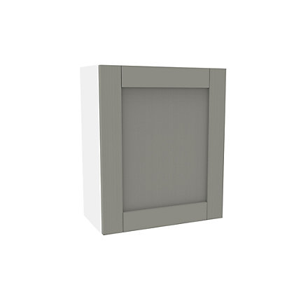 Image for Simply Hygena Southfield Grey Wall Cabinet - 600mm from StoreName