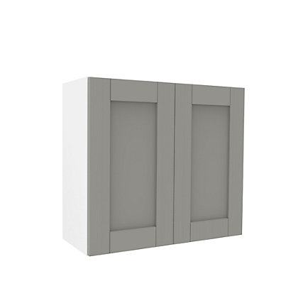 Image for Simply Hygena Southfield Grey Wall Cabinet - 800mm from StoreName