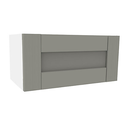 Image for Simply Hygena Southfield - Grey - 600mm Cooker Hood Cabinet from StoreName