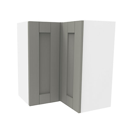 Image for Simply Hygena Southfield Grey Corner Wall Cabinet - 635mm from StoreName