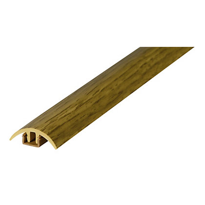 Image for Home of Style Variable Height Medium Oak Threshold - 1800mm from StoreName
