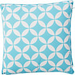 Global Paradise Garden Scatter Cushion - Aqua