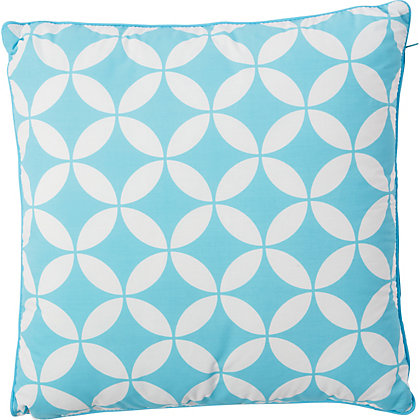 Image for Global Paradise Garden Scatter Cushion - Aqua from StoreName
