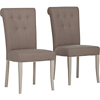 Schreiber Chalbury Pair of Upholstered Dining Chairs