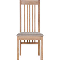 Schreiber Harbury Pair of Slatted Dining Chairs