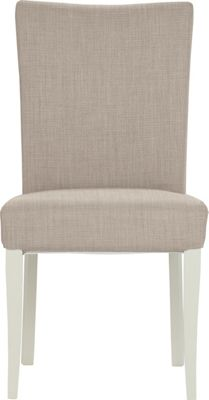Schreiber Osmington Painted Pair of Grey Dining Chairs