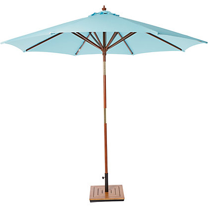 Image for Modern Simplicity Wooden Parasol - 2.7m from StoreName