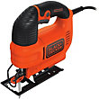 Black & Decker 520W Variable Speed Electric Jigsaw with Kitbox