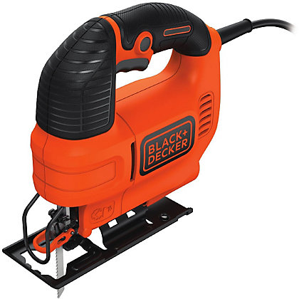 Image for Black & Decker 520W Variable Speed Electric Jigsaw with Kitbox from StoreName
