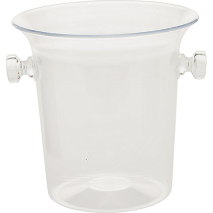 Image for Clear Plastic Ice Bucket from StoreName