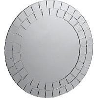 Mosaic Round Bathroom Mirror.