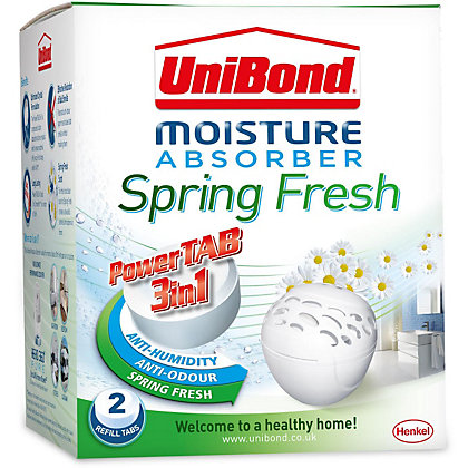 Image for UniBond Bubble Fresh Moisture Absorber Scented Refills Spring Fresh from StoreName