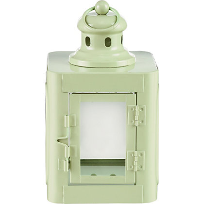 Image for Soft Green Skandi Style Lantern from StoreName