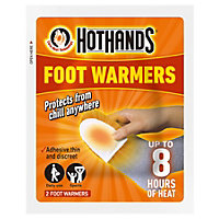 Hot Hands Foot Warmer - Twin Pack