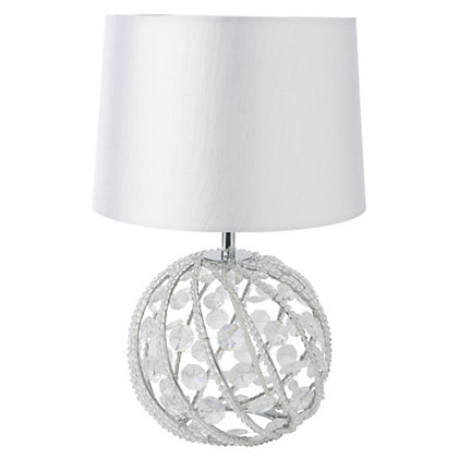 Image for Marcella Table Lamp - Chrome - 36cm from StoreName