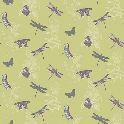Image for Enchanted Wings Citrus Wallpaper from StoreName
