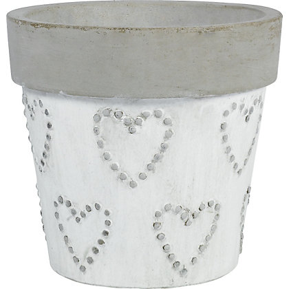 Image for Rustic Heart Planter - 30cm from StoreName