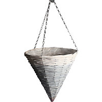 Rustic Retreat Hanging Cone - Two Tone