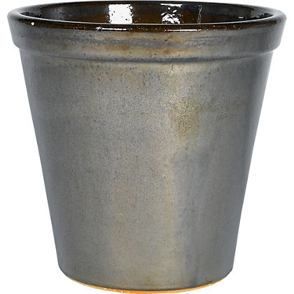 Image for Storm Glazed Plant Pot - 36cm from StoreName