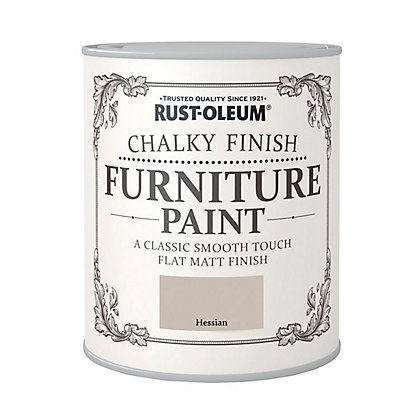 Image for Rust-Oleum Chalky Furniture Paint Hessian 125ml from StoreName