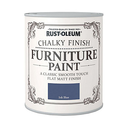Image for Rust-Oleum Chalky Furniture Paint Ink Blue 125ml from StoreName